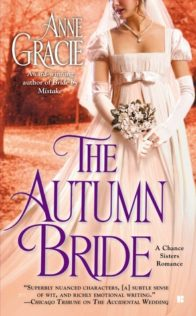 Review:  The Autumn Bride by Anne Gracie