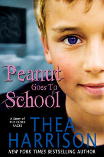 Review:  Peanut Goes to School by Thea Harrison