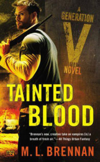 Review:  Tainted Blood by M. L. Brennan