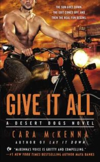Review:  Give It All by Cara McKenna
