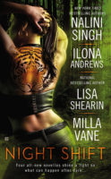 Audiobook Review:  Night Shift by N. Singh, I. Andrews, L. Shearin and M. Vane