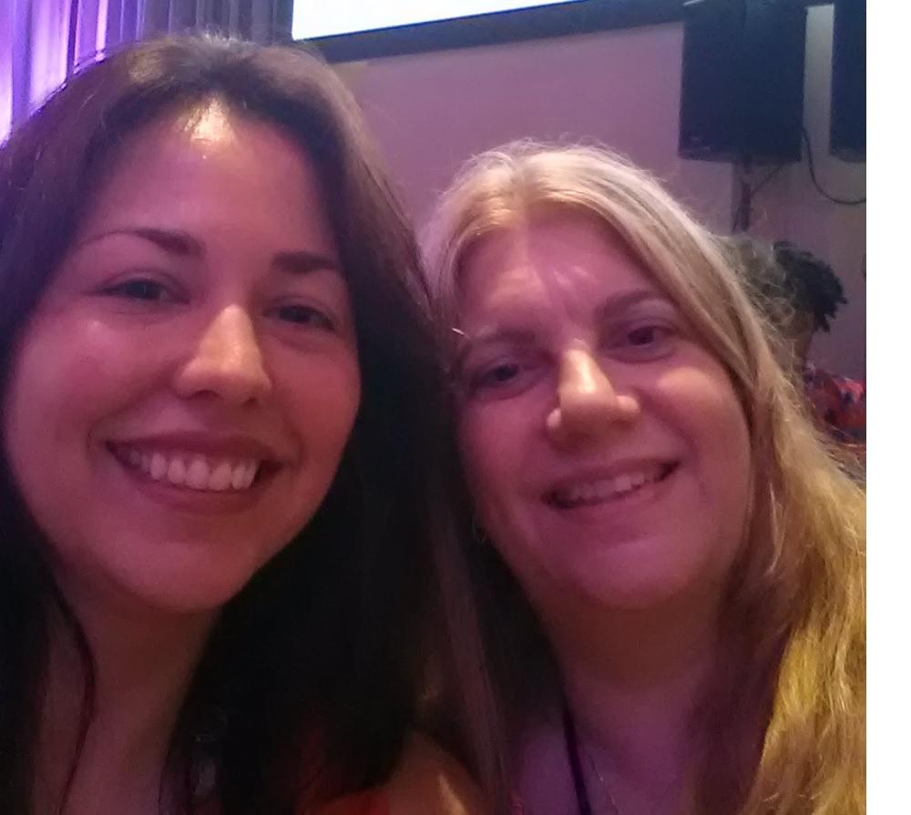 Christine and I at RWA 2015