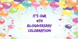 It's Our 4th Blogiversary Celebration!