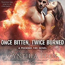 Audiobook Review:  Once Bitten, Twice Burned by Cynthia Eden