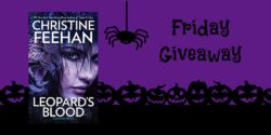 Friday Giveaway:  Leopard's Blood by Christine Feehan
