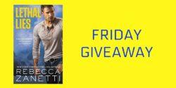 Monday Giveaway:  Lethal Lies by Rebecca Zanetti
