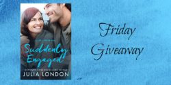 Friday eBook Giveaway:  Suddenly Engaged by Julia London