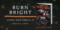 Spotlight/Giveaway:  Burn Bright by Patricia Briggs