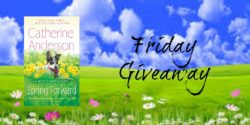Friday Giveaway:  Spring Forward by Christine Anderson