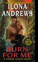 Audiobook Review:  Burn for Me by Ilona Andrews