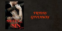 Friday Giveaway:  Sweet as Sin by J.T. Geissinger
