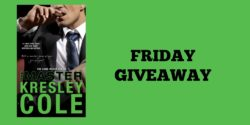 Friday Giveaway:  The Master by Kresley Cole