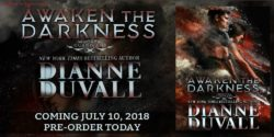 Cover Reveal:  Awaken The Darkness by Dianne Duvall