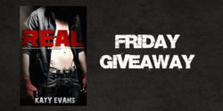 FRIDAY eBOOK GIVEAWAY:  Real by Katy Evans