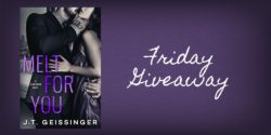 Friday Giveaway:  Melt for You by G.T. Geissinger