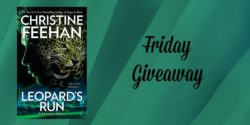 Friday Giveaway:  Leopard's Run by Christine Feehan