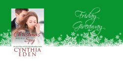 Friday Giveaway:  Christmas with a Spy by Cynthia Eden