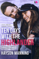 Review:  Ten Days with the Highlander by Hayson Manning