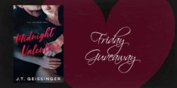 Friday eBook Giveaway:  Midnight Valentine by J.T. Geissinger