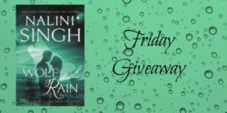 Friday Giveaway:  Wolf Rain by Nalini Singh