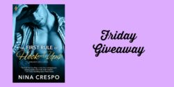 Friday eBook Giveaway:  The First Rule of Hook Ups by Nina Crespo