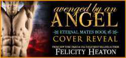 Cover Reveal:  Avenged by an Angel by Felicity Heaton