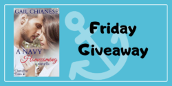 Friday Giveaway:  A Navy Homecoming by Gail Chianese