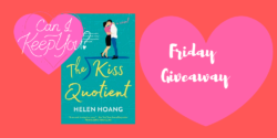 Friday eBook Giveaway:  The Kiss Quotient by Helen Hoang