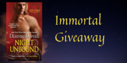 Friday Giveaway:  Night Unbound by Dianne Duvall