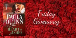 Friday Giveaway: Heart of Ashes by Paula Quinn