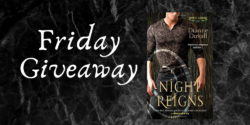 Friday Giveaway:  Night Reigns by Dianne Duvall
