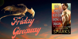 Friday Giveaway:  Eight Simple Rules for Dating a Dragon by Kerrelyn Sparks