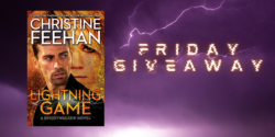 Friday Giveaway:  Lightning Game by Christine Feehan