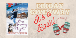 Friday Giveaway:  It's a Book!  It's a Book!